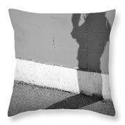 Shadows I Knew Throw Pillow