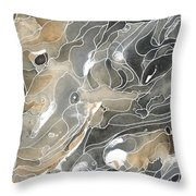 Shadows In The River Throw Pillow