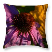 Shadows Of August Throw Pillow