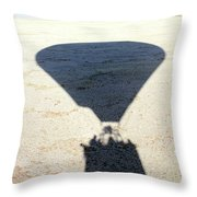 Shadows Of Freedom Throw Pillow