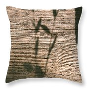 Shadows Of Life Throw Pillow