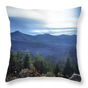 Shadows Of The Majestic , White Mountains Throw Pillow