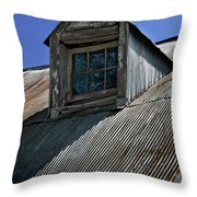 Shadows Reflections And Lines Throw Pillow