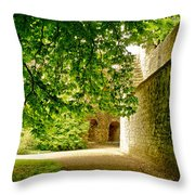 Shadowy Alley. Throw Pillow