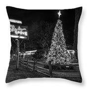 Shady Grove Austin Bw Throw Pillow