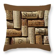 Shafer Wine Throw Pillow