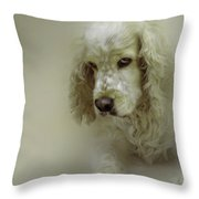 Saint Shaggy Art 7 Throw Pillow