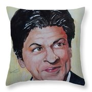 Shah Rukh Khan Throw Pillow
