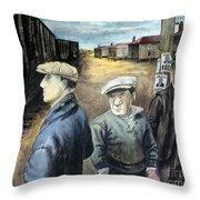 Shahn: Three Men Throw Pillow