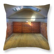 Shaker Chests Throw Pillow