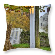 Shaker Fall Decor Throw Pillow