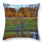 Shaker Lake 5 Throw Pillow