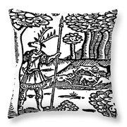 Shakespeare: Falstaff Throw Pillow