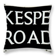 Shakespeare Road Uk Throw Pillow