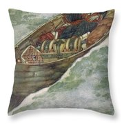 Shakespeare S Comedy Of The Tempest Throw Pillow