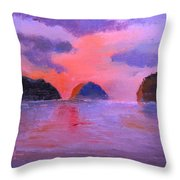 Shallow 18 Throw Pillow