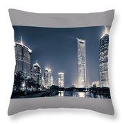 Shanghai Throw Pillow