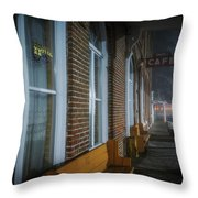 Shaniko Hotel And Cafe Throw Pillow