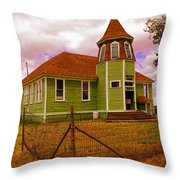 Shaniko School District Sixty Seven Throw Pillow