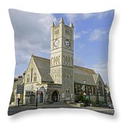 Shanklin United Reformed Church Throw Pillow