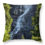 Shannon Falls_mg_--5504 Throw Pillow