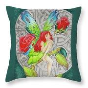 Shannon's Fairy Throw Pillow