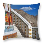 Spiritual Journey.. Throw Pillow