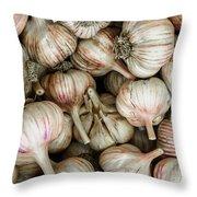 Shantung Garlic Throw Pillow