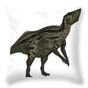 Shantungosaurus Dinosaur Throw Pillow