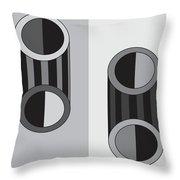 Shapeplay60 Throw Pillow