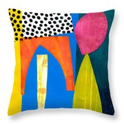 Shapes 2 Throw Pillow
