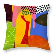 Shapes 4 Throw Pillow