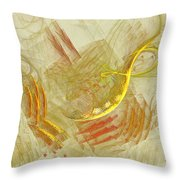 Shapes In Abstract Throw Pillow