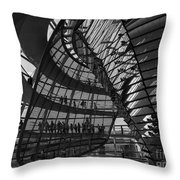 Shapes In Berlin 2 Throw Pillow