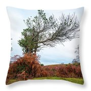 Shapes Of A Nature Throw Pillow