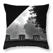 Shapes Of Denmark Throw Pillow