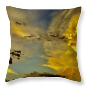 Shapes Of Heaven Throw Pillow