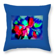 Shapes Our Lives Throw Pillow