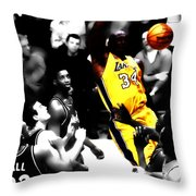 Shaq Monster Slam Throw Pillow