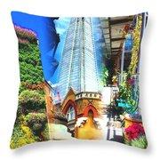 Shard Gardens Throw Pillow