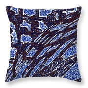 Shards And Pieces Throw Pillow