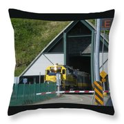 Share The Road Throw Pillow