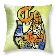Shareholder Throw Pillow