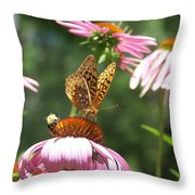 Sharing The Goodness Throw Pillow