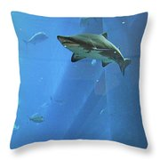 Sharknado In Dubai Throw Pillow