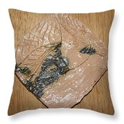 Sharpen - Tile Throw Pillow