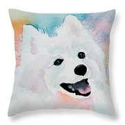 Shasta, A Prince Of A Dog Throw Pillow