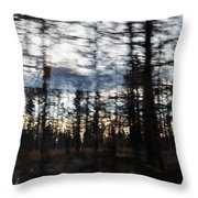 Shasta Trinity National Forest Throw Pillow