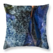 Shattered II Throw Pillow