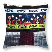 Shawl - Lost Birds Return Throw Pillow